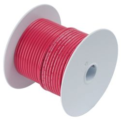 18 RED TINNED COPPER WIRE (35FT)