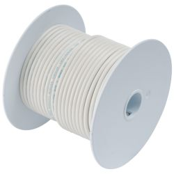 16 WHT TINNED COPPER WIRE (25FT)