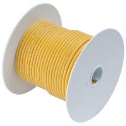 14 YEL TINNED COPPER WIRE (100FT)
