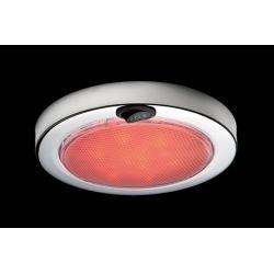 "Aqua Signal 5-1/2"" Columbo LED Interior Dome Light - Stainless Steel"