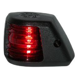 Aqua Signal Series 20 Black Navigation Light - Side Mount, Port
