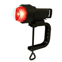 Aqua Signal Series 27 LED Battery Operated Navigation Light - Bi-Color, Clamp Mount