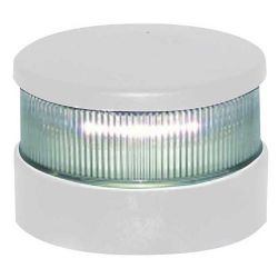 Aqua Signal Series 34 LED All-Round Navigation Light with White Beam & White Housing