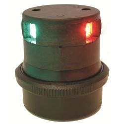 Aqua Signal Series 34 LED Tri-Color Navigation Light