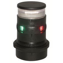 Aqua Signal Series 34 LED Tri-Color Navigation Light - Tri-Color & Anchor