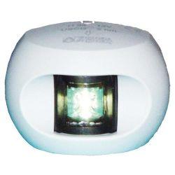 Aqua Signal Series 34 LED Navigation Lights - Stern Light, White Housing