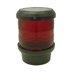 Aqua Signal Series 40 Navigation Light - Red All-Around, Black Housing