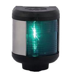 Aqua Signal Series 40 Navigation Light - Starboard, Black Housing