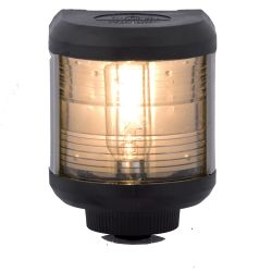 Aqua Signal Series 40 Navigation Light - Yellow Stern, Black Housing