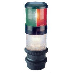 Aqua Signal Series 40 Sailboat Navigation Lights, Tri-Color/Anchor, Quicfits