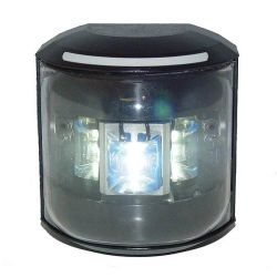 Aqua Signal Series 43 LED Navigation Lights - Masthead, Black Housing