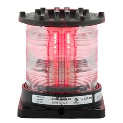Aqua Signal Series 65 LED Navigation Light - Signalling, Red