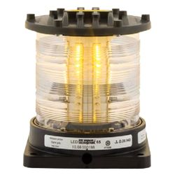 Aqua Signal Series 65 LED Navigation Light - Signalling, Yellow