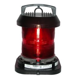 Aqua Signal Series 70 Single Lens Commercial Navigation Light - All-round, Red