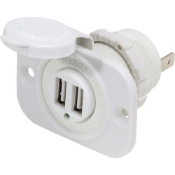 Blue Sea Systems Dual USB Charger Socket
