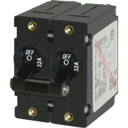 AC/DC Double Pole Circuit Breakers