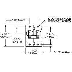 AC⁄DC Double Pole Circuit Breakers