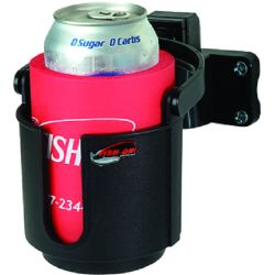 Fish-On Cup Holder Rod Mount - Black