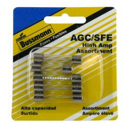 bpagcsfea5 of Buss Fuses Buss AGC 5-Fuse Assortment Kits