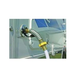 in use of Camco Hose End Protector