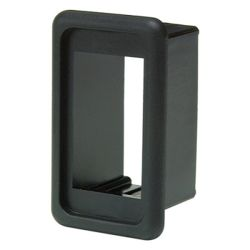 angle view of Cole Hersee Rocker Switch Independent Mounting Bezel