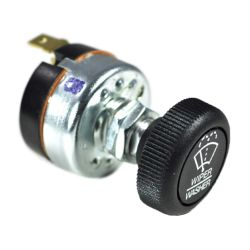 angle view of Cole Hersee Windshield Wiper Rotary Switch