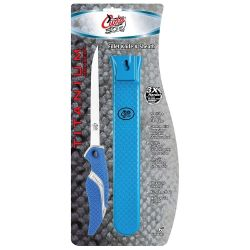 "in package of Cuda 6"" Flex Fillet Knife & Fishermans Sheath Set"