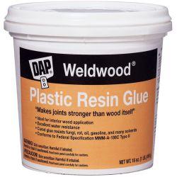 front view of DAP Weldwood Plastic Resin Glue