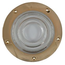 "Rabetted Round Deck Prism Light - 7-3/4"" Outside Diameter"