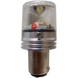 Dr LED Nav Bulb - GE90 Star LED Double Contact Bayonet Bulb, 2 nm Vis., 12/24V
