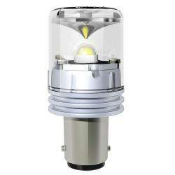 Dr LED Nav Bulb - GE90 Star LED Double Contact Bayonet Bulb, 2 nm Vis., 12/24V