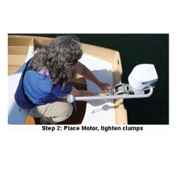 Step 2 of EP Carry Electric Motor EP Carry Electric Outboard - Standard Shaft