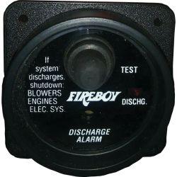 Fixed Extinguisher Discharge Alarm
