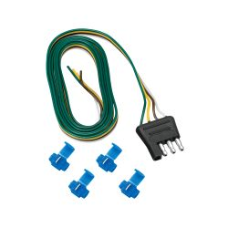 4-Way Flat Trailer End Wire Harnesses