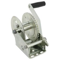 Single Speed Manual Trailer Winch
