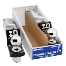 Trailer Hitch Starter Ball Mount Kit