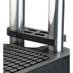 EEz-In Premium Folding Pontoon Transom Boarding Ladder