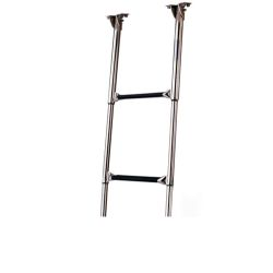 19623 of Garelick Out of Sight Under Platform Telescoping 3-Step SS Ladder