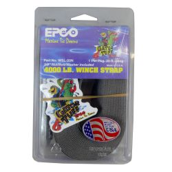 "package view of Gator Tuff 2"" Winch Strap with Sewn Loop End - 20 or 25 ft"