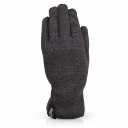 Front View of Gill Men's Knit Fleece Gloves