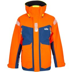 Tango Front View of Gill Men's OS24 Offshore Jacket