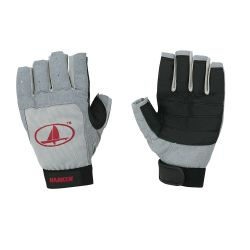 Black Magic 3/4 Finger Sailing Gloves