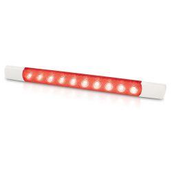 Hella 1.5W Courtesy LED Surface Mount Strip Lamp - Red LED
