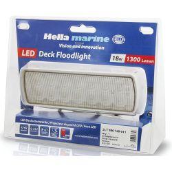 Packaging of Hella 1300 Lumen Sea Hawk-XLR LED Flood Light
