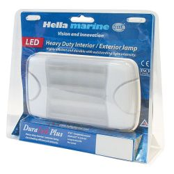 Hella DuraLED 20 Wide Beam Utility Light - Retail Pack