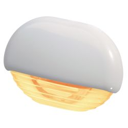 Hella Easy Fit LED Courtesy Lamp - Amber Lamp, White Trim
