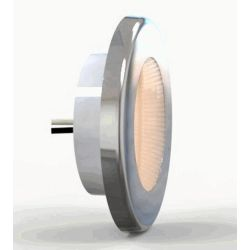 "Hella 3"" EuroLED 75 Recessed Mount LED Down Light - with White Trim Ring"