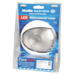 "Hella 5"" EuroLED 130 Surface Mount LED Dome Light - Packaging"