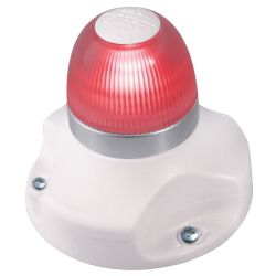 Hella NaviLED 360 - All-Round Navigation Light - Red, White Base
