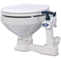 Manual Toilet with Twist 'n' Lock Piston